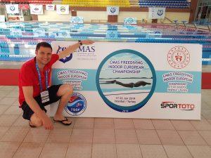 Lee más sobre el artículo Campeonato Europeo de Apnea Indoor